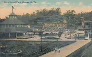 CHESTER , West Virginia, 1900-10s ; Leap The Dip , Rock Springs Amusement Park