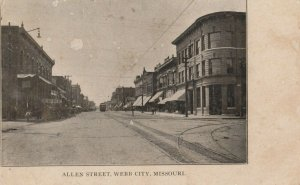 WEBB CITY , Missouri , 1908 ; Allen Street