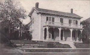 Indiana Greenfield Home Of James Wnitcomb Riley