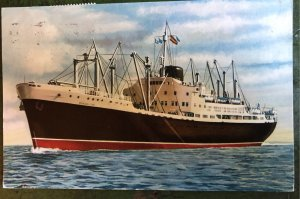 Guadeloupe Ship Madrid Spain, Trasalantica Espanola
