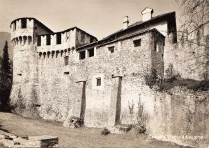 Switzerland, Suisse, Castello Visconti Locarno, unused real photo Postcard
