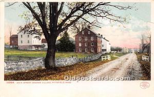 Old Vintage Shaker Post Card Main Street,  Village Pittsfield, Massachusetts,...