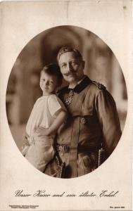 CPA AK Unser Kaiser u sein altester Enkel GERMAN ROYALTY (701193)
