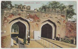 India; Cashmere Gate, Delhi PPC, Unposted, c 1910's
