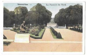 France Versailles Palace Parterre du Nord Vintage Postcard