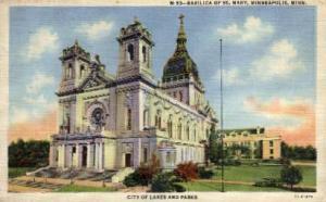 Basilica of St. Mary Minneapolis MN Unused