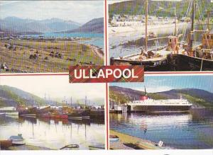 Scotland Ross-shire Ullapool Fishing Boats Multi View 1979