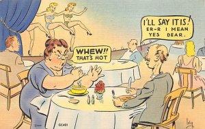 Whew! That's Hot Cartoon Comic 1945