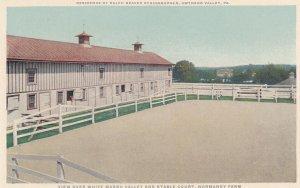 GWYNEDD VALLEY , Pennsylvania , 1900-10s ; Stable Court, Normandy Farm
