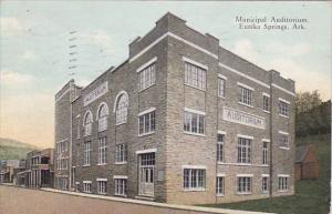 Arkansas Eureka Springs Municipal Auditorium 1932
