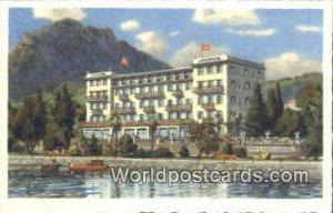 Grand Hotel Europe Lugano Swizerland Unused