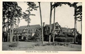 NC - Greensboro. Sedgefield Inn