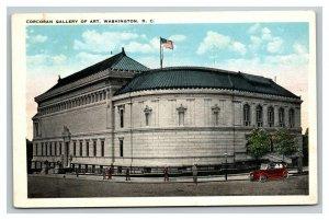 Vintage 1920's Postcard Panoramic View Corcoran Gallery of Arts Washington DC