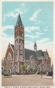 CANTON, Ohio, 1910s; First M.E. Church, McKinley Home Church