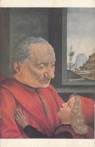 Domenico Grillandajo di Tomasso Bigordi portrait of an old man and his grand son