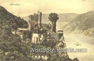 Rheinstein Germany, Deutschland Postcard  Rheinstein
