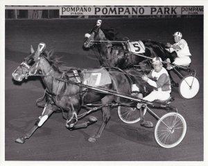 POMPANO PARK, Harness Horse Race, MANERO'S CANONERO Winns