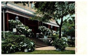 Rhode Island Narragansett ,  Entrance Imperial Hotel