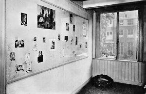 Judaic Post Card Anne Frank Huis Amsterdam Unused