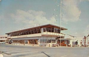 Honolulu Hawaii birds eye view Fisherman's Wharf vintage pc ZA440383