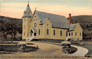 25526 NH, White Mountains, Our Lady of the Mountain Catholic Church, Fabyans