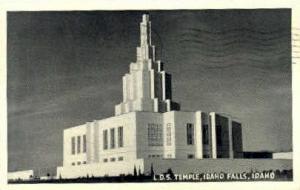 L.D.S. Temple Idaho Falls ID 1949