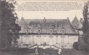Le Chateau (Cote Ouest), Face A La Route, NUITS-SOUS-RAVIERES, France, 1900-1...