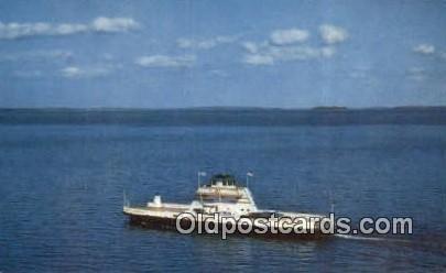 MV Grand Isle, Grand Isle, Vermont, VT USA Ferry Ship 1964 close to perfect, ...