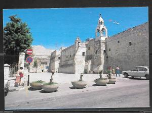 Israel, Bethlehem, Church of Navtivity, 1950's auto, unused