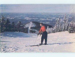 Chrome SKIING SCENE Franconia New Hampshire NH AG5334