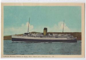 C.P.S.S. Princess Helene, Digby NS St John NB