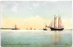 Nova Scotia, Canada, Pictou Harbor  1914