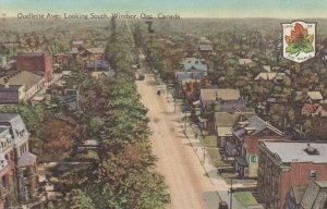 WINDSOR, Ontario, Canada, PU-1929; Ouellette Ave., Looking South