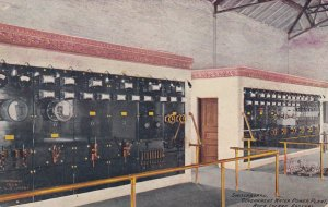 ROCK ISLAND , Illinois , 1910 ; Switchboard , Government Water Power Plant