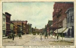 Canal Street  Grand Rapids MI Writing On Back