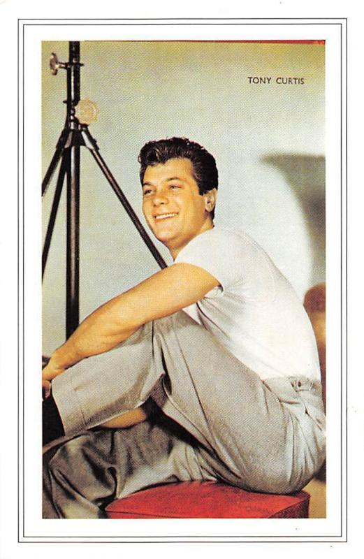 Tony Curtis American Movie Film Actor 1925 Nostalgia Reprint