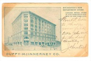 Duffy-McINNERNEY Co. , Rochester's New Department Store , ROCHESTER , New Yor...