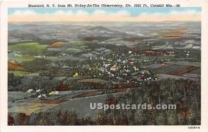 Mt Ut Say An Tha Observatory Stamford NY Unused