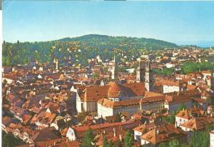 Switzerland, Suisse, St. Gallen, general view, 1980 used