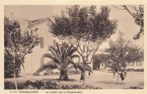 Casablanca - Le Jardin de la Pouponniere , Morocco , 1910s
