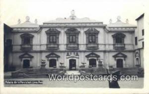 Lima, Peru Palacio de la Perricholi  Palacio de la Perricholi