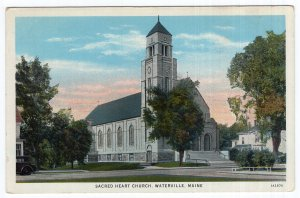 Waterville, Maine, Sacred Heart Church