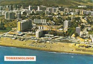 Spain Torremolinos Vista de la playa y Paseo Maritimo
