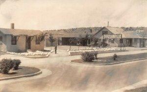 LPS42 Walsenburg Colorado Norton's Cottage Camp Postcard RPPC