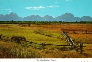 Wyoming The Grand Tetons