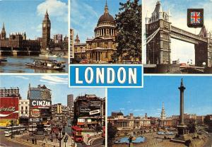 BR90004 london coca cola double decker bus  uk 1