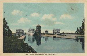PETERBOROUGH , Ontario , 1937 ; Lift Locks