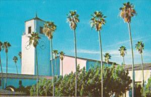 California Los Angeles Union Passenger Railroad Terminal
