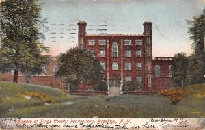 Brooklyn New York~Kings County Penitentiary~Crow Hill~Demolished 1907~1907 PC