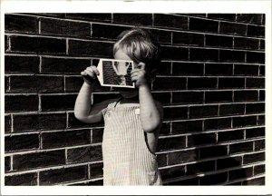 Kenneth Josephson photo Matthew 1965 boy & Polaroid of himself